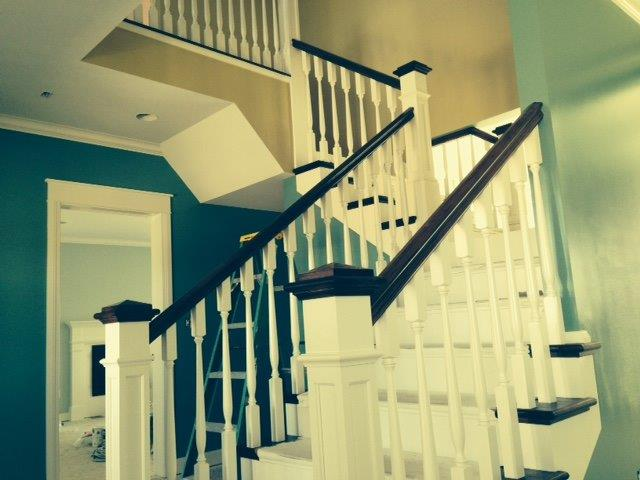 Painted Poplar & Hickory Stair-Parts